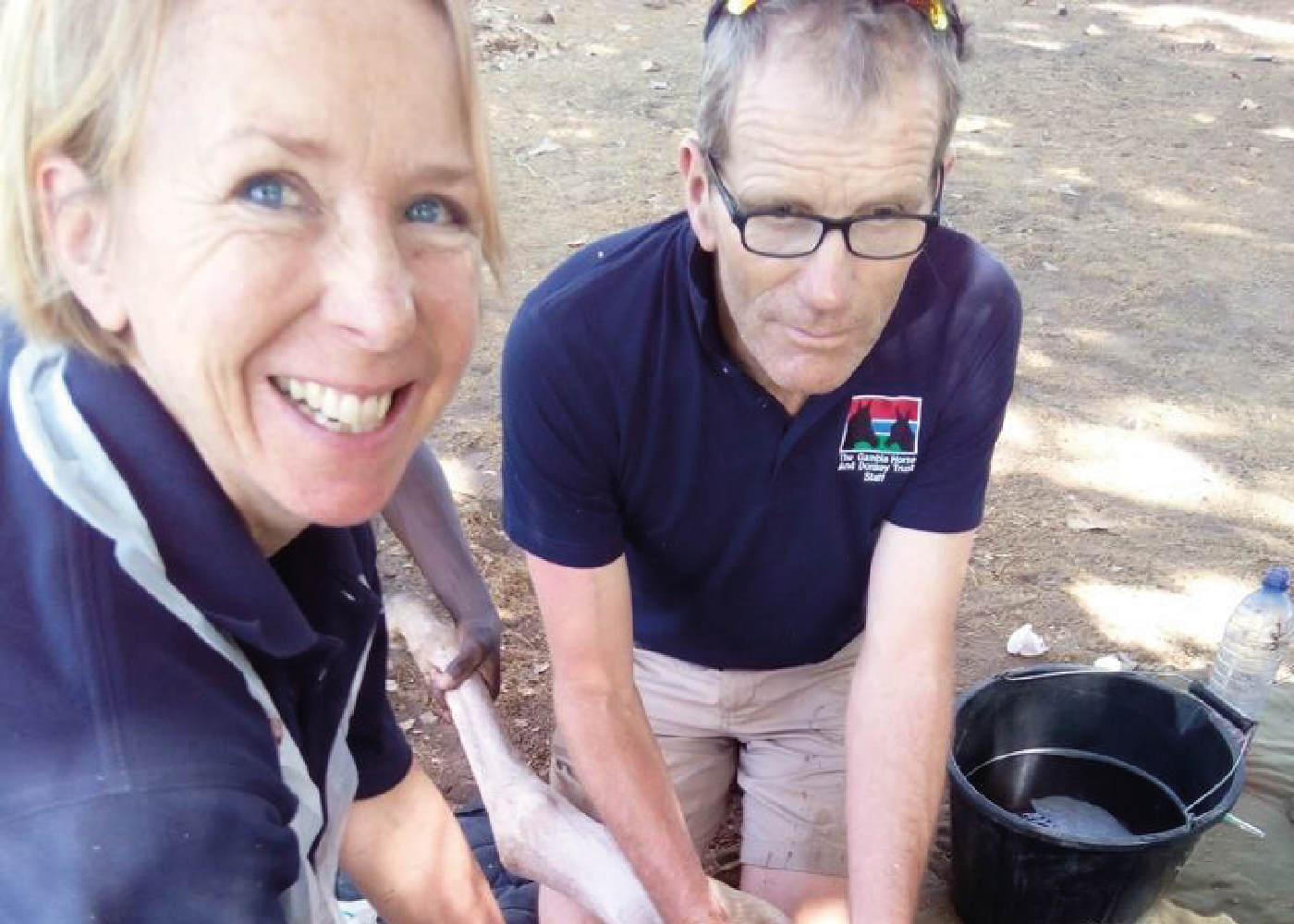 Luise and Andrew Harrison share their experience at the Gambia Horse and Donkey Trust