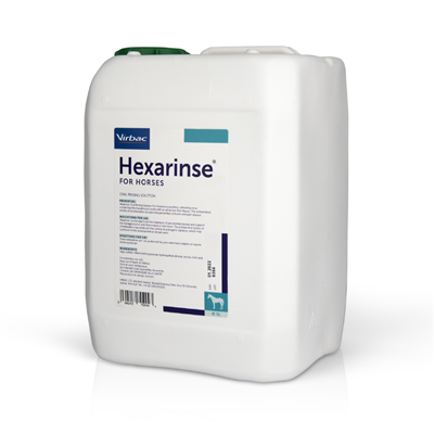 Virbac adds Hexarinse® For Horses to the growing equine portfolio